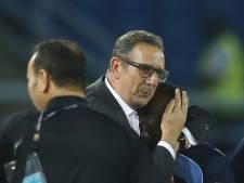"""Leekens furieux contre l'arbitre et le penalty """"inacceptable"""""""