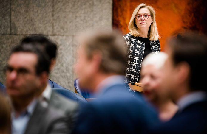 Minister Sigrid Kaag voor Buitenlandse Handel (D66) ging vorige week in debat met de Tweede Kamer over Ceta.