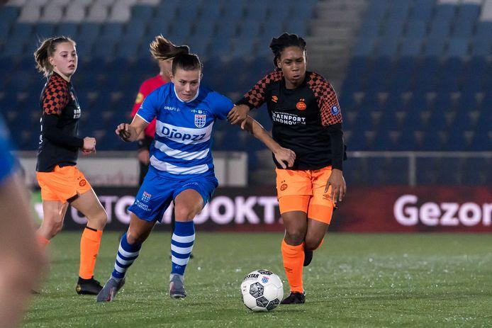 Dominique Bruinenberg vervult nog zeker een seizoen een dragende rol bij PEC Zwolle.