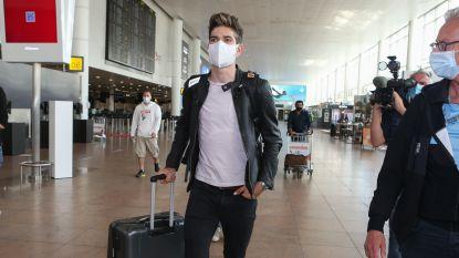 """Korte poos thuis deed deugd voor Van Aert voor vertrek richting WK: """"Naar gynaecoloog gaan verzette mijn gedachten"""""""