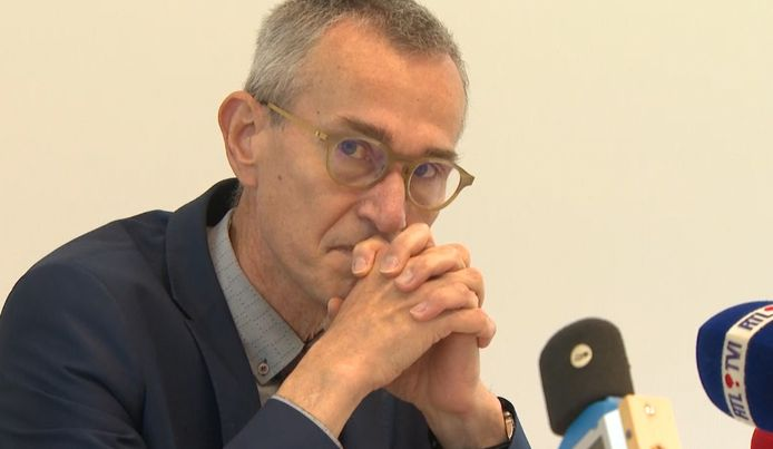 Le ministre Vandenbroucke, à Liège