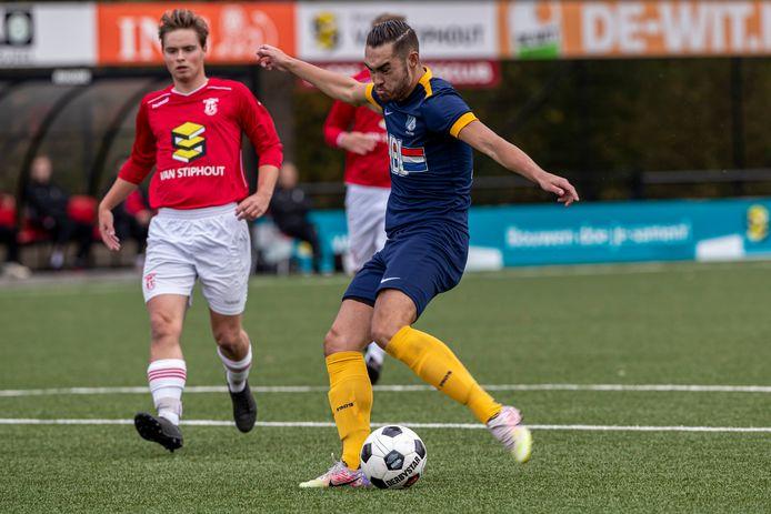 Wedstrijdbeeld Rhode - FC Eindhoven/AV.