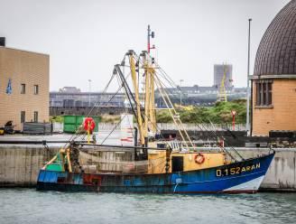Brand aan boord van vissersschip