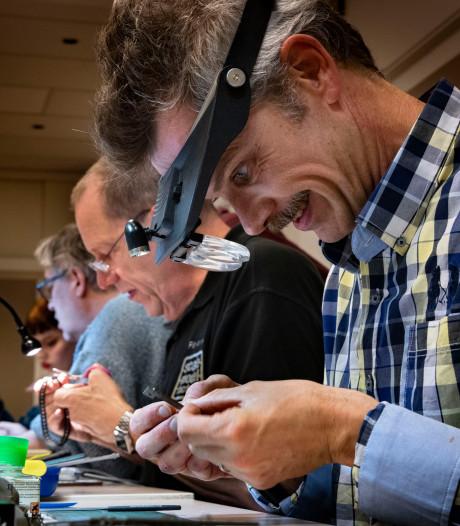 Op Scale model challenge beurs in Eindhoven 'Fijn met mijn handen bezig zijn'