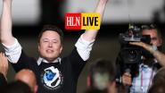 """HLN LIVE. SpaceX-baas Elon Musk over raketlancering:  """"Eerste stap naar beschaving op Mars"""""""
