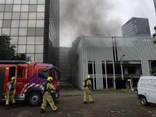 Weer brand in voormalige parkeergarage aan de Rijswijkseweg