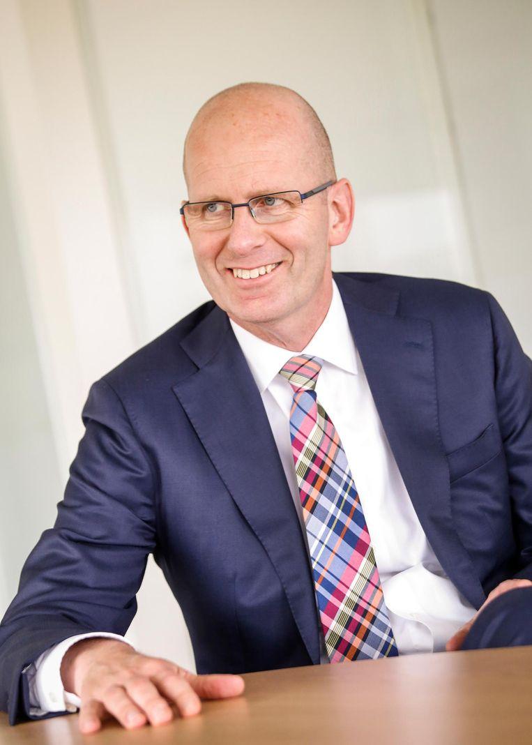 Ruben Wenselaar, voorzitter raad van bestuur Menzis: 'Welke burger weet nou dat hij 5.700 euro aan zorgkosten per jaar betaalt?' Beeld Menzis