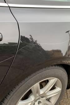 Negen auto's bekrast in Megen, 500 euro beloning voor de gouden tip