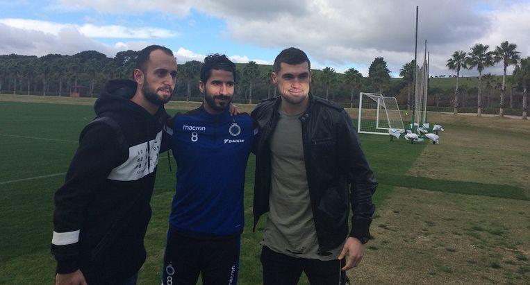 Vazquez, Refaelov en Ryan: nog niet zo lang geleden een gouden drietand bij Club Brugge.