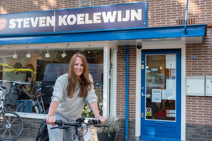 Petra Koelewijn van fietsenwinkel Bike Totaal
