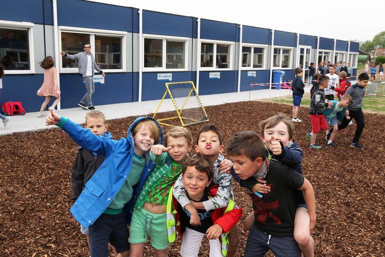 De kinderen van Vinderhoute zijn alvast enthousiast.
