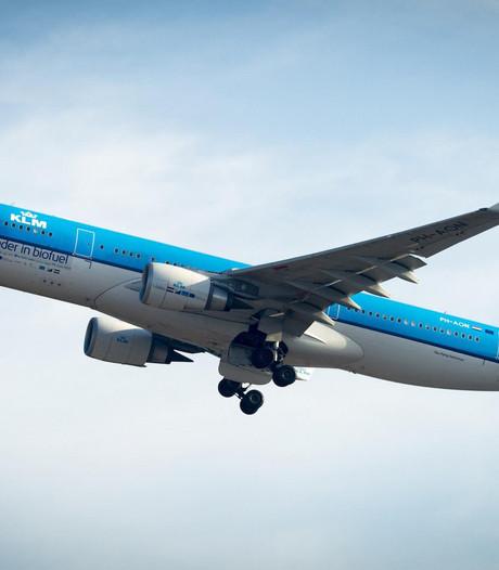 Blauwe plekken na turbulentie op KLM-vlucht