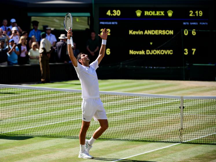 Djokovic bezorgt Grote Drie in tennis nummer 50