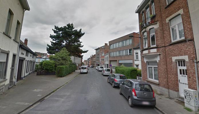 Rue Godefroid Kurth, à Evere