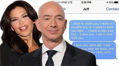 """""""Tabloid betaalde broer van Bezos' maîtresse 200.000 dollar voor pikante sms'jes"""""""
