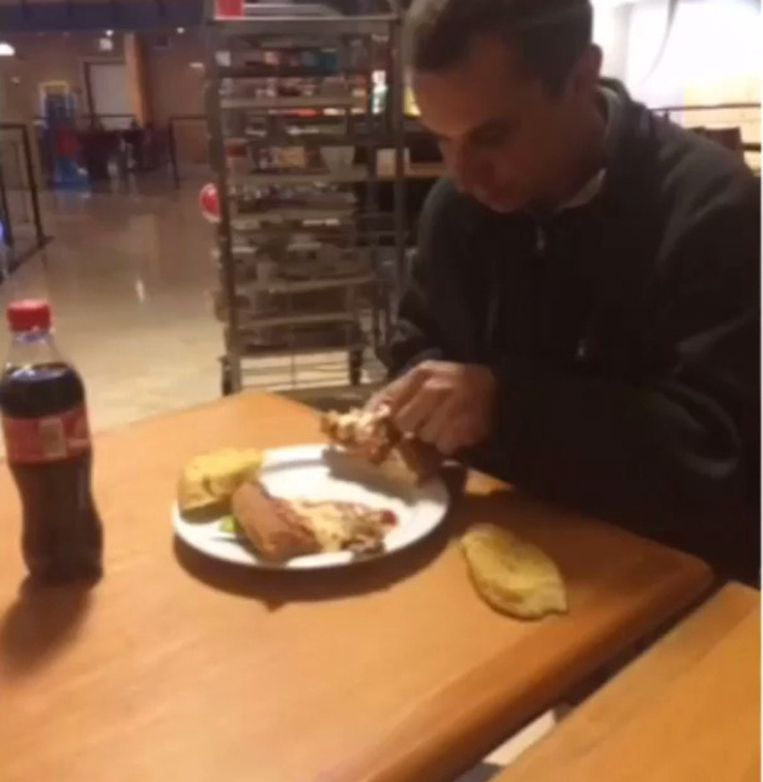 Eten in België Beeld Instagram