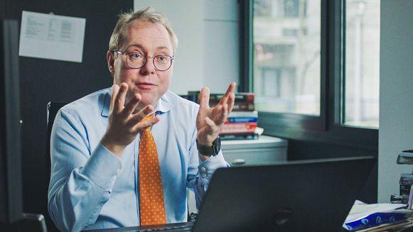 Werner Jacobs, forensisch patholoog en hoofd van de dienst Gerechtelijke Geneeskunde van het UZ Antwerpen.