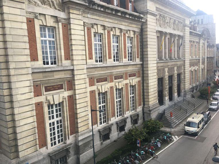 Het Leuvense gerechtsgebouw.