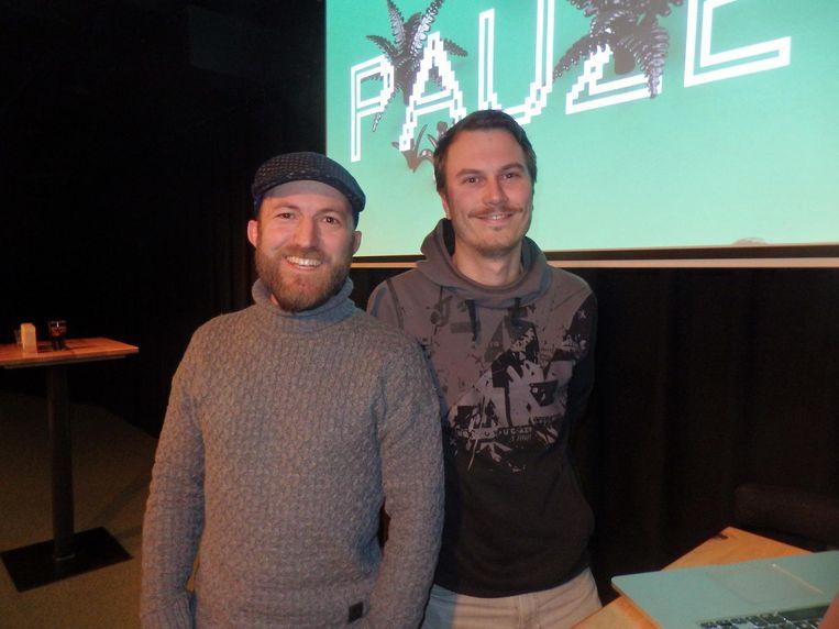 Rhys Davelaar en Geert Eichhorn van MediaMonks spreken over mixed en augmented reality. Machine learning wordt huge. Is het al eigenlijk. Beeld Schuim
