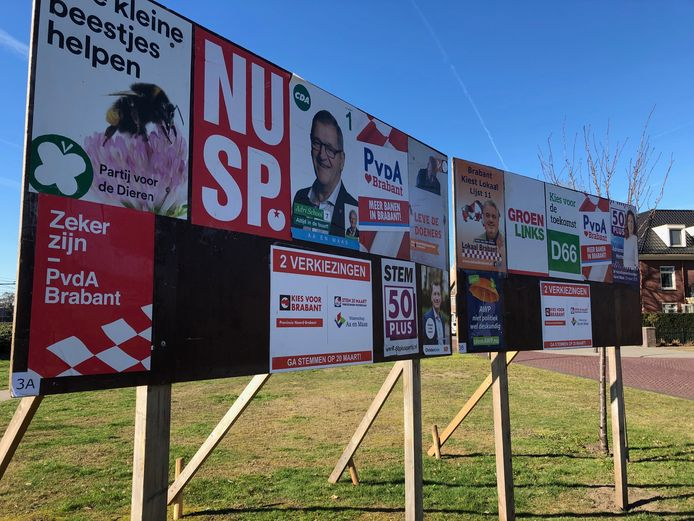 Op 20 maart zijn de verkiezingen voor Provinciale Staten.
