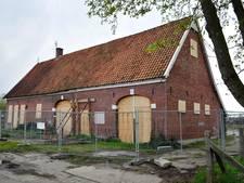 Monumentale boerderij in Hengelo wordt niet herbouwd