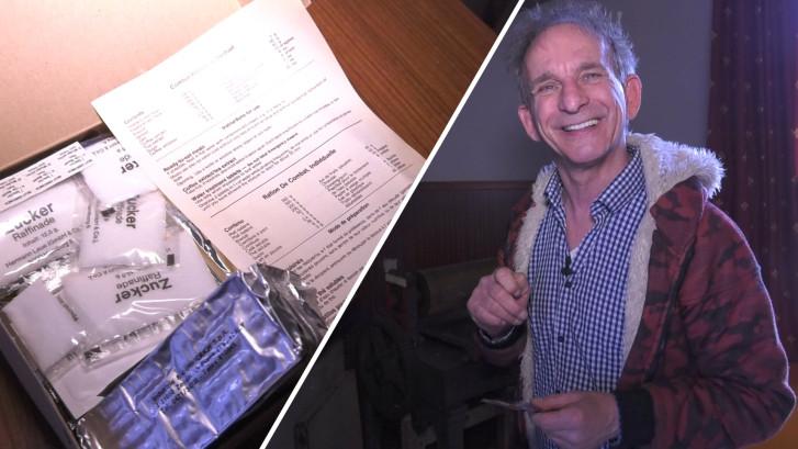 Johan Vlemmix heeft 20.000 voedselpakketten op voorraad: 'Je weet maar nooit'