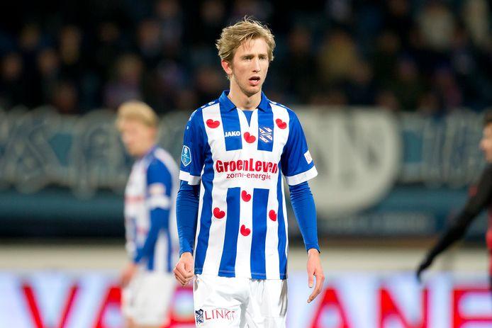SC Heerenveen speler Michel Vlap kan zijn debuut maken voor Jong Oranje