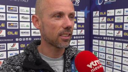"""Sven Nys fier op zoon Thibau na Europese titel: """"Ik kon dat niet op die leeftijd"""""""