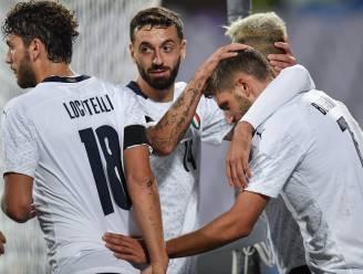 OEFENINTERLANDS. Italië wint vlot - Duitsland niet voorbij Turkije - Frankrijk haalt uit