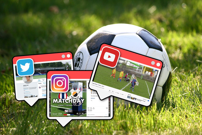 Amateurclubs op Social Media