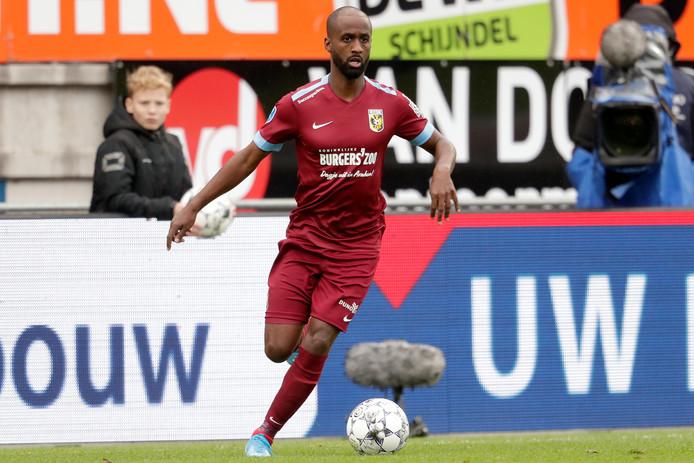 Eli Dasa bij zijn debuut voor Vitesse tegen RKC Waalwijk.