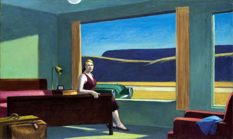 Edward Hopper, Western Motel, 1957. Beeld Getty