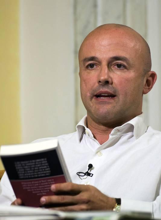 Le journaliste Gianluigi Nuzzi.