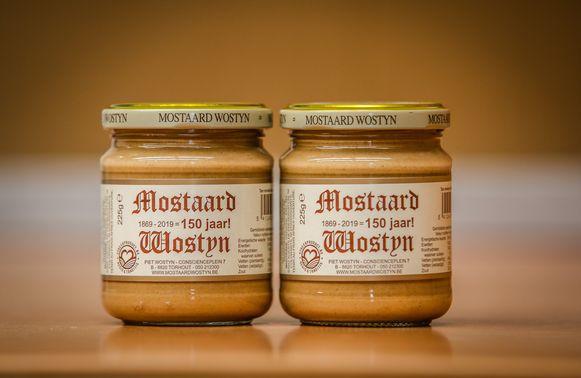 Torhout streekproduct Mosterd Wostyn