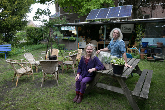 Martha Resink en Dick Verheul van Omslag