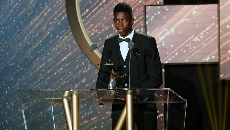 Ousmane Dembélé werd vorige week nog verkozen tot 'Belofte van het Jaar in de Ligue 1'