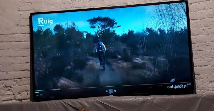 Beeld uit het promotiefilmpje waarmee ontdekr.nl werd gepresenteerd.