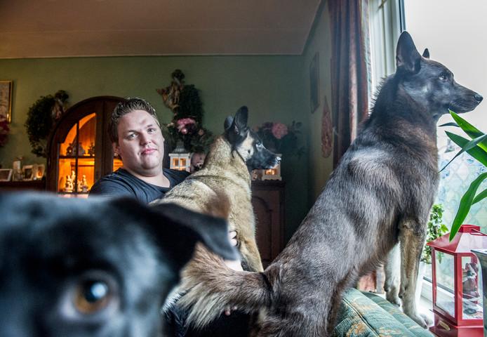 Christiaan Hermans, eigenaar van dode hond Roxy.