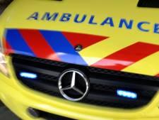 Ambulancepersoneel in actie