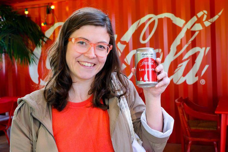 Coca-Cola-woordvoerster Laura Brems.