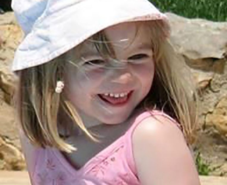 Madeleine McCann verdween op 3 mei 2007. Beeld AFP