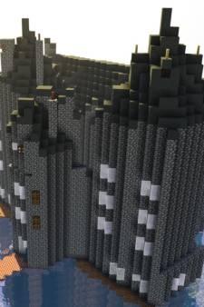 Minecraftwedstrijd rond Slot Loevestein