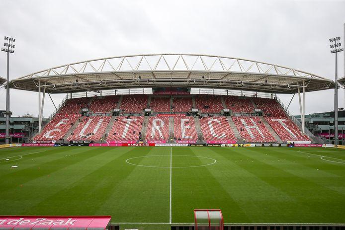 De Galgenwaard, het stadion van FC Utrecht.