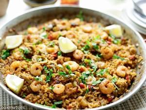 Wat Eten We Vandaag: Rijst met zeevruchten