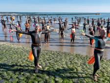 Zwemmers maken zich op voor tweede zeetocht
