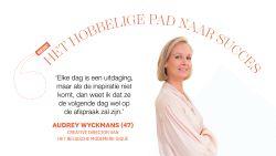 """Het hobbelige pad naar succes van Audrey Wyckmans van het modemerk Gigue: """"Alles komt altijd goed"""""""
