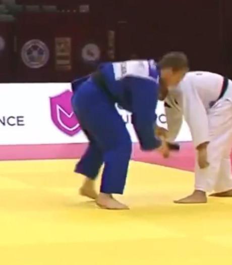 Un GSM sur le tatami, la disqualification la plus étrange de l'histoire du judo?