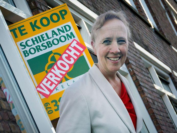 Wethouder Inge Nieuwenhuizen.