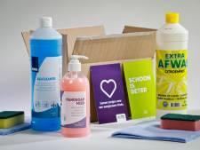 CSU schenkt 10.000 schoonmaakpakketten aan Voedselbank
