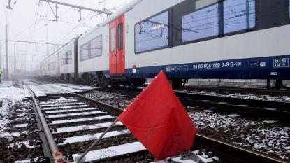 Treinverkeer tussen Lichtervelde en Tielt voorlopig nog over één spoor